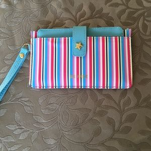 Handbags - 🌸3/$30!🌸NWOT Colorful, THIN Wallet!